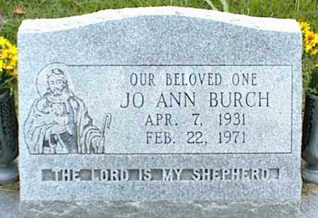 BURCH, JO ANN - Nowata County, Oklahoma   JO ANN BURCH - Oklahoma Gravestone Photos
