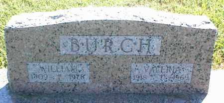 BURCH, WILLIAM - Nowata County, Oklahoma | WILLIAM BURCH - Oklahoma Gravestone Photos