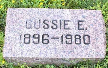 CARPENTER, GUSSIE E. - Nowata County, Oklahoma | GUSSIE E. CARPENTER - Oklahoma Gravestone Photos