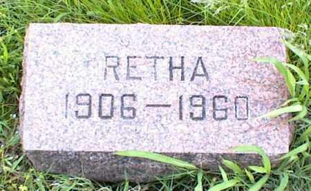 CARPENTER, RETHA - Nowata County, Oklahoma | RETHA CARPENTER - Oklahoma Gravestone Photos