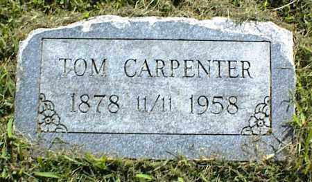 CARPENTER, TOM - Nowata County, Oklahoma   TOM CARPENTER - Oklahoma Gravestone Photos