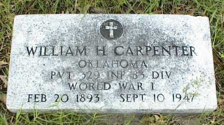 CARPENTER, WILLIAM H. - Nowata County, Oklahoma   WILLIAM H. CARPENTER - Oklahoma Gravestone Photos