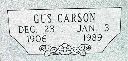 CARSON, GUS - Nowata County, Oklahoma | GUS CARSON - Oklahoma Gravestone Photos