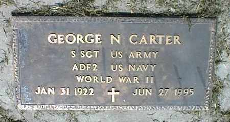 CARTER, GEORGE N. - Nowata County, Oklahoma | GEORGE N. CARTER - Oklahoma Gravestone Photos