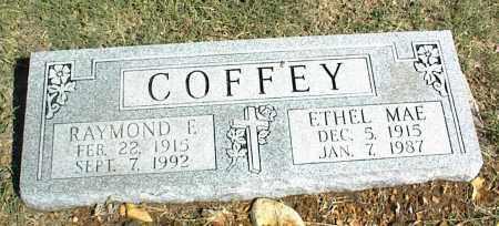 COFFEY, ETHEL MAE - Nowata County, Oklahoma | ETHEL MAE COFFEY - Oklahoma Gravestone Photos