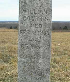 COURTS, WILLIAM - Nowata County, Oklahoma | WILLIAM COURTS - Oklahoma Gravestone Photos