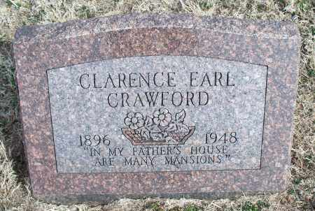 CRAWFORD, CLARENCE EARL - Nowata County, Oklahoma | CLARENCE EARL CRAWFORD - Oklahoma Gravestone Photos