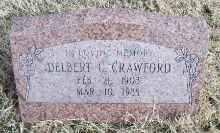 CRAWFORD, DELBERT C. - Nowata County, Oklahoma   DELBERT C. CRAWFORD - Oklahoma Gravestone Photos