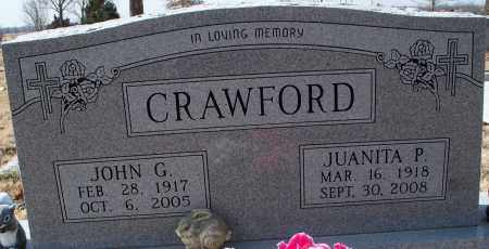 CRAWFORD, JUANITA P. - Nowata County, Oklahoma | JUANITA P. CRAWFORD - Oklahoma Gravestone Photos