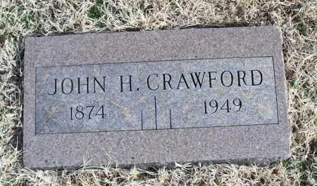 CRAWFORD, JOHN H. - Nowata County, Oklahoma   JOHN H. CRAWFORD - Oklahoma Gravestone Photos