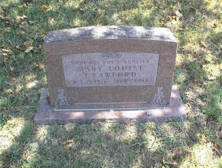 CRAWFORD, MARY LOUISE - Nowata County, Oklahoma | MARY LOUISE CRAWFORD - Oklahoma Gravestone Photos