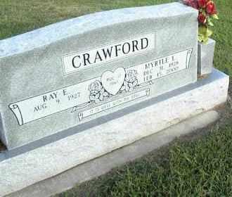 CRAWFORD, MYRTLE L. - Nowata County, Oklahoma | MYRTLE L. CRAWFORD - Oklahoma Gravestone Photos