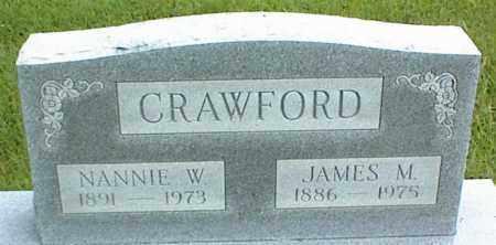 CRAWFORD, JAMES M. - Nowata County, Oklahoma | JAMES M. CRAWFORD - Oklahoma Gravestone Photos