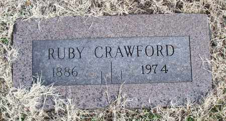 CRAWFORD, RUBY - Nowata County, Oklahoma | RUBY CRAWFORD - Oklahoma Gravestone Photos