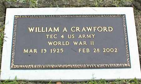 CRAWFORD, WILLIAM A. - Nowata County, Oklahoma | WILLIAM A. CRAWFORD - Oklahoma Gravestone Photos