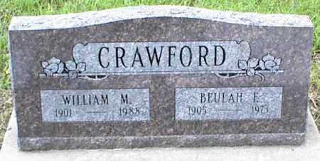 CRAWFORD, WILLIAM M. - Nowata County, Oklahoma | WILLIAM M. CRAWFORD - Oklahoma Gravestone Photos