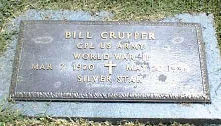 CRUPPER, BILL - Nowata County, Oklahoma | BILL CRUPPER - Oklahoma Gravestone Photos