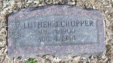 CRUPPER, LUTHER J. - Nowata County, Oklahoma | LUTHER J. CRUPPER - Oklahoma Gravestone Photos