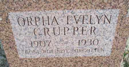 CRUPPER, ORPHA EVELYN - Nowata County, Oklahoma   ORPHA EVELYN CRUPPER - Oklahoma Gravestone Photos