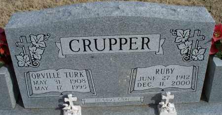 CRUPPER, ORVILLE TURK - Nowata County, Oklahoma | ORVILLE TURK CRUPPER - Oklahoma Gravestone Photos