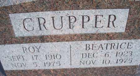 CRUPPER, BEATRICE - Nowata County, Oklahoma | BEATRICE CRUPPER - Oklahoma Gravestone Photos