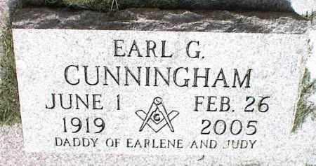 CUNNINGHAM, EARL G. - Nowata County, Oklahoma   EARL G. CUNNINGHAM - Oklahoma Gravestone Photos