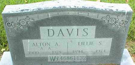 DAVIS, ALTON A. - Nowata County, Oklahoma | ALTON A. DAVIS - Oklahoma Gravestone Photos