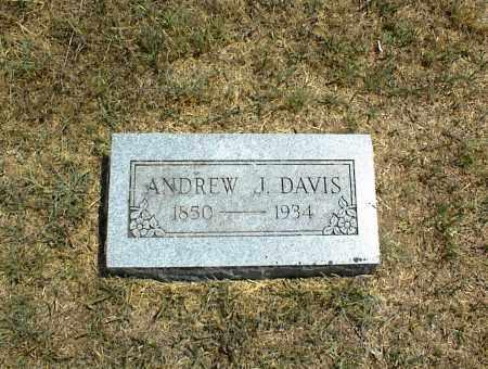 DAVIS, ANDREW J. - Nowata County, Oklahoma | ANDREW J. DAVIS - Oklahoma Gravestone Photos