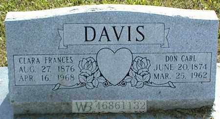 DAVIS, DON CARL - Nowata County, Oklahoma | DON CARL DAVIS - Oklahoma Gravestone Photos