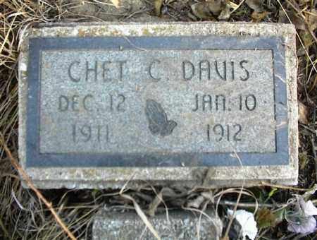 DAVIS, CHET - Nowata County, Oklahoma | CHET DAVIS - Oklahoma Gravestone Photos