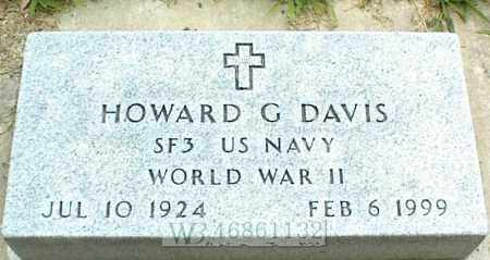 DAVIS, HOWARD G. - Nowata County, Oklahoma | HOWARD G. DAVIS - Oklahoma Gravestone Photos