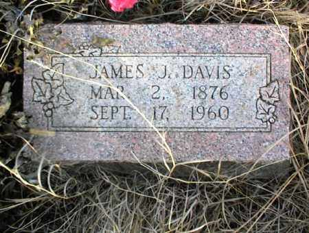 DAVIS, JAMES J. - Nowata County, Oklahoma   JAMES J. DAVIS - Oklahoma Gravestone Photos