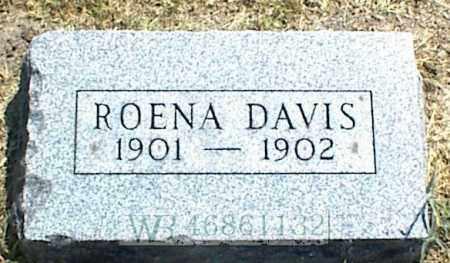 DAVIS, ROENA - Nowata County, Oklahoma | ROENA DAVIS - Oklahoma Gravestone Photos