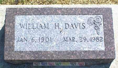 DAVIS, WILLIAM H. - Nowata County, Oklahoma | WILLIAM H. DAVIS - Oklahoma Gravestone Photos
