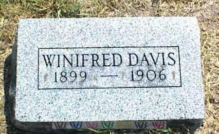 DAVIS, WINIFRED - Nowata County, Oklahoma | WINIFRED DAVIS - Oklahoma Gravestone Photos