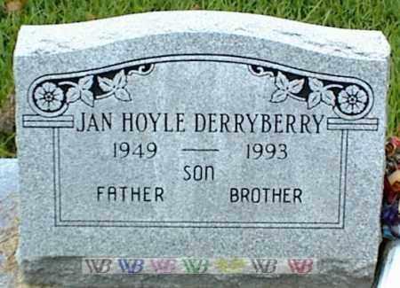 DERRYBERRY, JAN HOYLE - Nowata County, Oklahoma | JAN HOYLE DERRYBERRY - Oklahoma Gravestone Photos