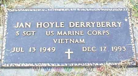 DERRYBERRY, JAN HOYLE - Nowata County, Oklahoma | JAN HOYLE DERRYBERRY - Oklahoma Gravestone Photos
