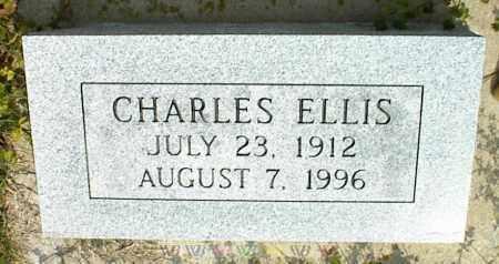 ELLIS, CHARLES - Nowata County, Oklahoma | CHARLES ELLIS - Oklahoma Gravestone Photos
