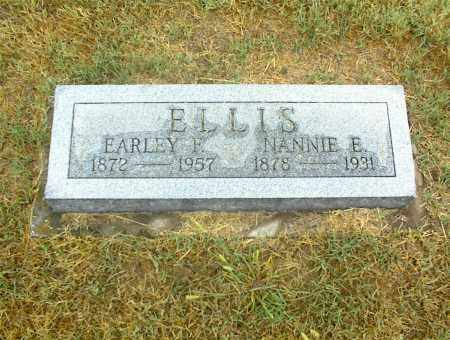ELLIS, EARLEY F. - Nowata County, Oklahoma | EARLEY F. ELLIS - Oklahoma Gravestone Photos