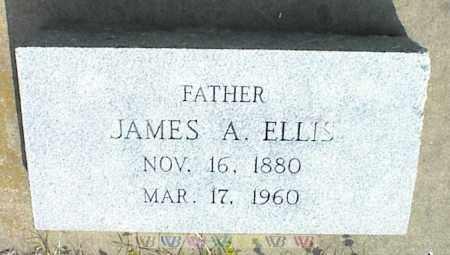 ELLIS, JAMES A. - Nowata County, Oklahoma   JAMES A. ELLIS - Oklahoma Gravestone Photos