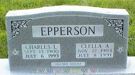EPPERSON, CHARLES L. - Nowata County, Oklahoma | CHARLES L. EPPERSON - Oklahoma Gravestone Photos