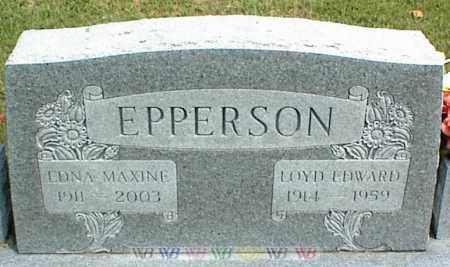 EPPERSON, EDNA MAXINE - Nowata County, Oklahoma | EDNA MAXINE EPPERSON - Oklahoma Gravestone Photos