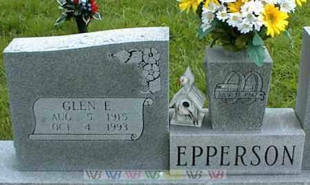 EPPERSON, GLEN E. - Nowata County, Oklahoma   GLEN E. EPPERSON - Oklahoma Gravestone Photos