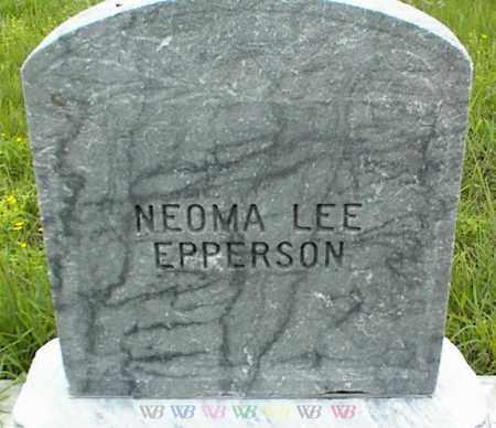 EPPERSON, NEOMA LEE - Nowata County, Oklahoma | NEOMA LEE EPPERSON - Oklahoma Gravestone Photos