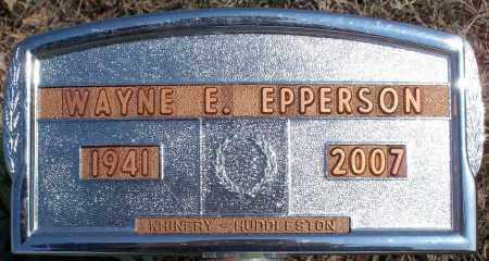 EPPERSON, WAYNE E. - Nowata County, Oklahoma | WAYNE E. EPPERSON - Oklahoma Gravestone Photos