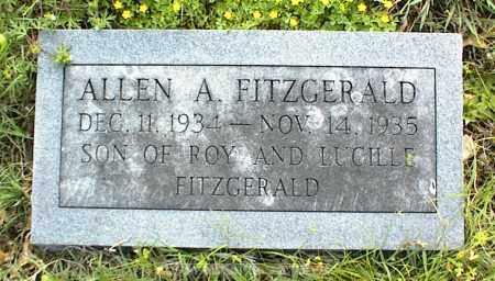 FITZGERALD, ALLEN A. - Nowata County, Oklahoma   ALLEN A. FITZGERALD - Oklahoma Gravestone Photos