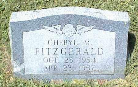 FITZGERALD, CHERYL M. - Nowata County, Oklahoma   CHERYL M. FITZGERALD - Oklahoma Gravestone Photos