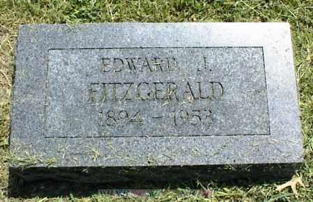 FITZGERALD, EDWARD J. - Nowata County, Oklahoma   EDWARD J. FITZGERALD - Oklahoma Gravestone Photos