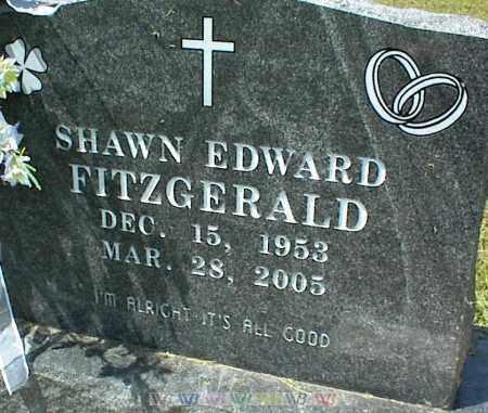 FITZGERALD, SHAWN EDWARD - Nowata County, Oklahoma | SHAWN EDWARD FITZGERALD - Oklahoma Gravestone Photos