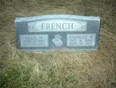 FRENCH, CHARLES W. - Nowata County, Oklahoma   CHARLES W. FRENCH - Oklahoma Gravestone Photos